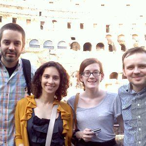 Camron, Margaret, Amy - Rome 2011