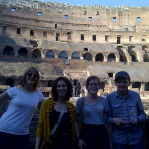 Clarissa Parker, Margaret Distler, Amy Hart - Rome 2011
