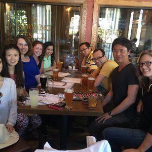 Jungkyun Seo's goodbye party! Rock Bottom Brewery, July 2016