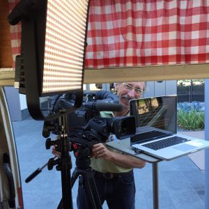 Gil Janksy, videography expert - Filming Neuron video abstract, Sept 2016