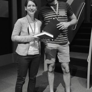 Alex Gileta winning an award at the CTC Meeting