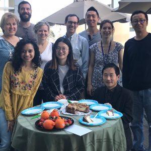 A little birthday celebration for Abe!