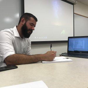 Alex Gileta successfully defends his doctoral thesis!